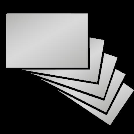Visitenkarten | Heißfolienprägung gold | beidseitig