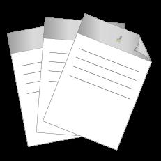 Briefpapier HKS   DIN A4 einseitig   2/0-farbig